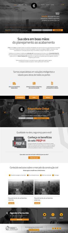 Home site SGI  - Construtora e Incorporadora