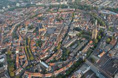 De Amersfoortse binnenstad vanuit een luchtballon! #Amersfoort #Keistad #033