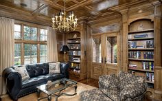 Greenwich CT English manor den | Flickr - Photo Sharing!