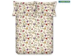 Sweet flower patterned sheet set.