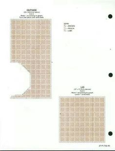Tissue Roll Holder Pg (Home Decor Series) Plastic Canvas Tissue Boxes, Plastic Canvas Crafts, Plastic Canvas Patterns, Tissue Box Holder, Tissue Box Covers, Roll Holder, Paper Holders, Tissue Paper Crafts, Yarn Crafts