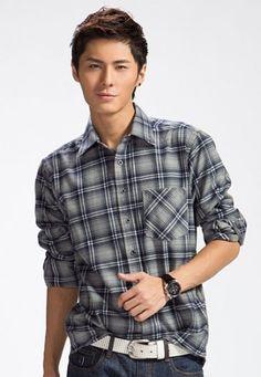 Check Shirt C16 | www.changingrm.com/men-with-charm/205-check-shirt-c16.html