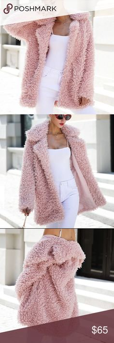Faux Fur Janna Coat 💕 So pretty! I'll have these in stock soon! Please allow 1.5 weeks to ship! Perfect for Christmas! Faux fur, not real fur! MaterialFaux Fur Sleeve Length(cm)Full Clothing LengthLong CollarTurn-down Collar Closure TypeSingle Breasted Sleeve StyleRegular TypeWide-waisted Craft\TechnicsFull Pelt StyleCasual Model NumberOW502 DecorationButton,Pockets GenderWomen Outerwear TypeFur & Faux Fur Jackets & Coats