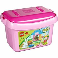 Buy LEGO® DUPLO® Pink Brick Box - 4623 at Argos.co.uk - Your Online Shop for LEGO and construction toys.