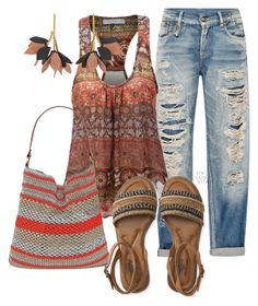 """""""Untitled #918"""" by naviaux ❤ liked on Polyvore featuring R13, LE3NO, Straw Studios, Aéropostale and Marni"""