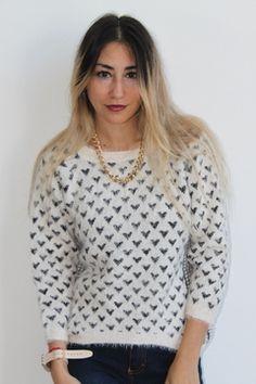 #sweater #love #heart #amor #pelo #mono #pelodemono #peludito #suave #tendencias #temporada2015 #otoño #invierno