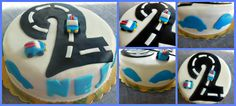 2nd birthday car and road cake