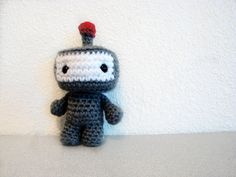 super cute robot from TheIndigoToybox - Etsy Love