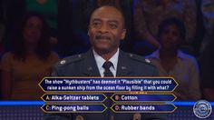 """Friday, retired #AirForce Lt. Colonel Curt Green plays on #MillionaireTV #ArmedForcesWeek. And winning a big retirement bonus this #Christmas will make his holiday bright. Salute our American heroes on Friday's all-new """"Millionaire"""" with host Chris Harrison. Go to www.millionairetv.com for time and channel to watch."""