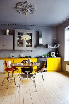Colorful modern kitchen - Modern Kitchens with Color and Character