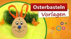 ⓿ Osterbasteln Vorlagen ⓿ Osterhasen basteln mit Kindern - trendmarkt24