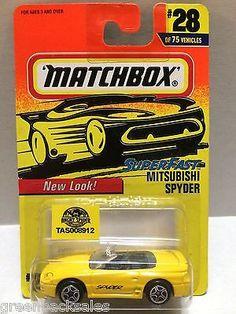(TAS008912) - Matchbox Racing Car - Mitsubishi Spyder