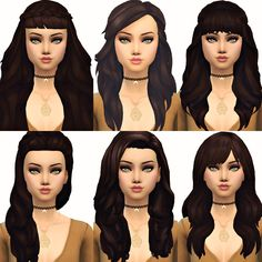 Current Favourite Maxis Match Hair 2 (From left to right, then down and left to right again) Hair 1 (X) by ChocolateMuffinTop Hair 2 (X) by SimpleSimmer Hair 3 (X) by NolanSims Hair 4 (X) by...