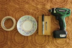 How to Drill a Hole in a China Plate (with Pictures) Teapot Lamp, Teacup Crafts, Types Of Ceramics, China Crafts, Diy Bird Feeder, Glass Garden Art, Drilling Holes, Vintage Plates, Vintage Teacups