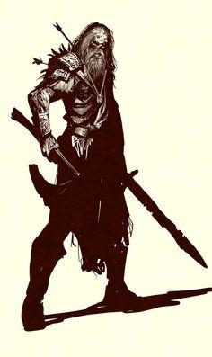 just a random slightly undead dude by nebezial.deviantart.com on @deviantART