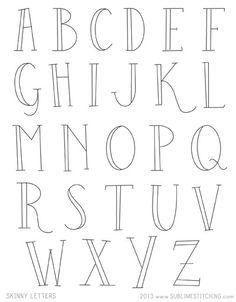line lettering, type, design, print, alphabet, bold, caps, typography