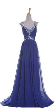 FashionFits Women's Cap Sleeve Crystal Evening Dresses Color Royal Blue Size US14/UK18/EUR44 PerfectDay http://www.amazon.com/dp/B00F5V4QCW/ref=cm_sw_r_pi_dp_rYMYub1PWN6WS