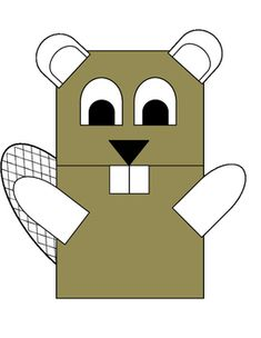 A beaver paper bag puppet your students can make themselves. Your students color and cut out the pieces and glue them onto a paper bag to create this cute beaver puppet. 2nd Grade Christmas Crafts, Canada Day Crafts, Paper Bag Puppets, Crafts For Kids, Arts And Crafts, Canada 150, Puppet Crafts, Stories For Kids, Club