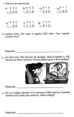 2º e 3º Ano - Matemática/Atividades