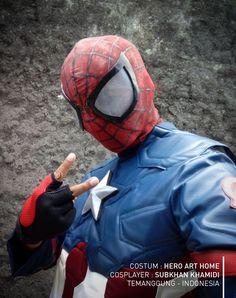 Captain Spiderman :P