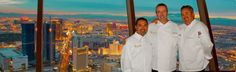 Top of The World Restaurant at the Stratosphere Hotel & Casino, Las Vegas, Nevada. Delicious food, awesome 360 degree view of the city, great atmosphere!
