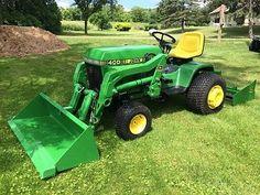 Click image for larger version Name: Views: 64 Size: KB ID: 1335129 John Deere Garden Tractors, Yard Tractors, Small Tractors, John Deere 400, Lawn Mower Maintenance, Garden Tractor Attachments, Homemade Tractor, John Deere Mowers, Utility Tractor