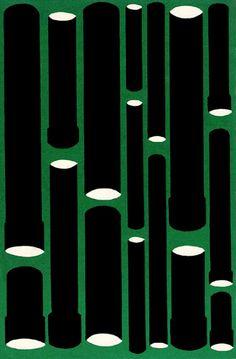 Book Cover Pattern,  Vladimir Dudintsev - Icke av bröd allenast  Årtal: 1960  Originaltitel: Nechlebom edinym  Förlag: Tidens bokklubb