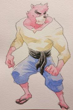 The Boy and the Beast #Kumatetsu (by 白子)