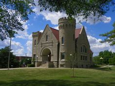7) Brumback Library Castle: If this doesn't look like the place to find a good book I don't know what does. This historic public library in Van Wert was the first library in the country to serve an entire county, and its unique architectural design sets it apart even more.