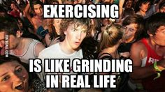 As an avid RPG player who recently started lifting weights at the gym...