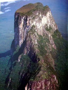 """Autana Tepuy, Venezuela (state of Amazonas near the Colombian border). A Tepui (or Tepuy) is a table-top mountain (mesa) found only in the Guayana highlands of South America, especially in Venezuela. The word tepui means """"house of the gods"""" in the native tongue of the Pemon, the indigenous people who inhabit the Gran Sabana. Autana means """"the tree of life""""."""
