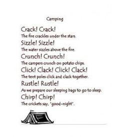 Camping Poem: