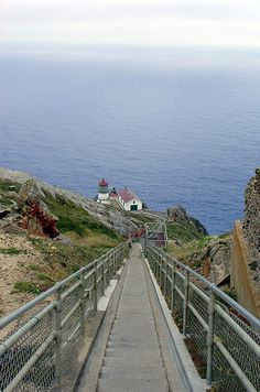 Point Reyes Lighthouse - Point Reyes National Seashore, California