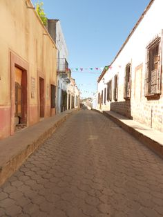 The lovely streets of Alamos.