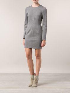 Cedric Charlier Seamed Detail Dress - Patron Of The New - Farfetch.com