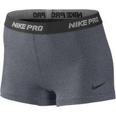 "Nike Pro 2.5"" Compression Short - Women's - Training - Clothing - Carbon Heather/Black"