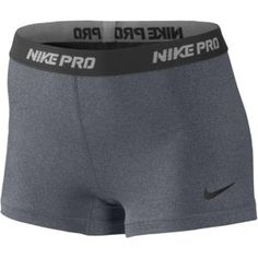 "Nike Pro 2.5"" Compression Short - Women's - Training - Clothing - Carbon Heather/Black"