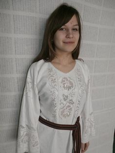 Embroidered blouse from Bukovyna, Ukraine