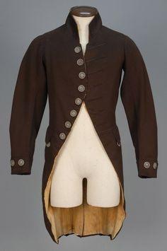 Emglish Wool Livery Coat, 1790 - 1800