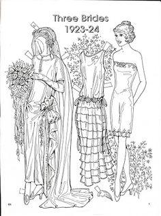Three Brides 1923-24 Paper Dolls by Charles Ventura - Nena bonecas de papel - Picasa-Webalben