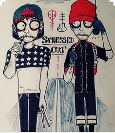 Stressed Out // Twenty One Pilots | Fan Art