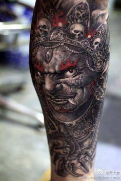 Artist: Hailin fu China  #tattoo