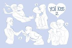Set Price YCH KISS 2 OPEN! (Paypal and Points) by Taikoubou-Metal.deviantart.com on @DeviantArt