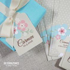 Decorazones.es _ Decora los regalos de tus invitados con etiquetas, cinta y tu toque personal #primeracomunion #comuniones #regalosinvitados