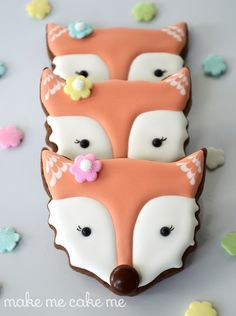 Fox Galletas del cortador Cat | Make Me Cake Mí