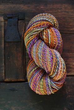 Handspun.  Merino wool...Great Colors...