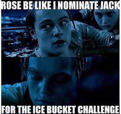 Funny ice bucket challenge