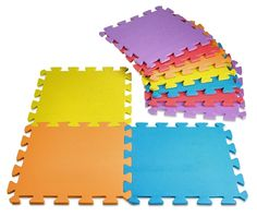 Baby Play Mat Foam Floor Puzzle 9 Tiles Toddler Activity Gym Kids Safety Playmat | eBay