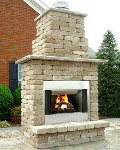 Wood Burning Fireplace Kits