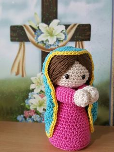 Beautiful Virgen de Guadalupe/ 2 sizes. https://www.etsy.com/shop/JulissaMoreiraFab